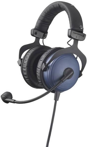 Beyerdynamic DT 790.28 200/80 - Wysoce izolowany zestaw słuchawkowy z dynamicznym mikrofonem hipercardiod