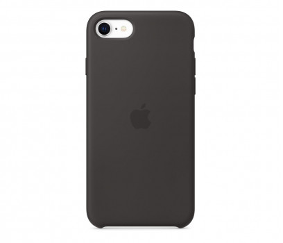 Apple Etui Apple silikonowe do iPhone SE 2020 czarne MXYH2ZM/A
