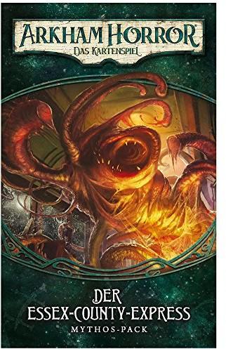 Fantasy Flight Games Arkham Horror: Das w karty do gry LCGpo Essex County-Expressdunwich 2 FFGD1103