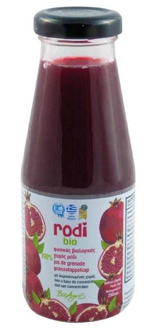 Bio AGROS (greckie produkty spoż SOK Z GRANATU 200 ml - AGROS