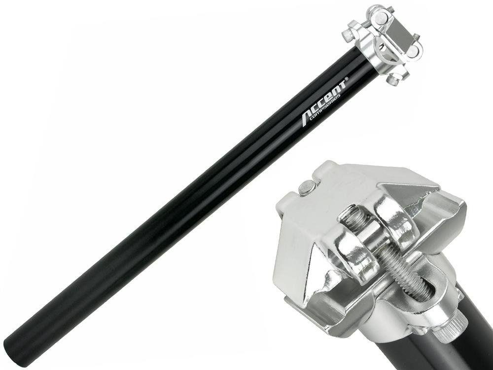 Accent Wspornik siodła Accent SP-408 26,8 mm, czarny