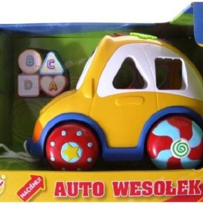 Smily Auto Wesołek z klockami Mówi po polsku 0659