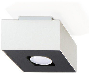Sollux Lighting Plafon MONO 1 biały SL.0066