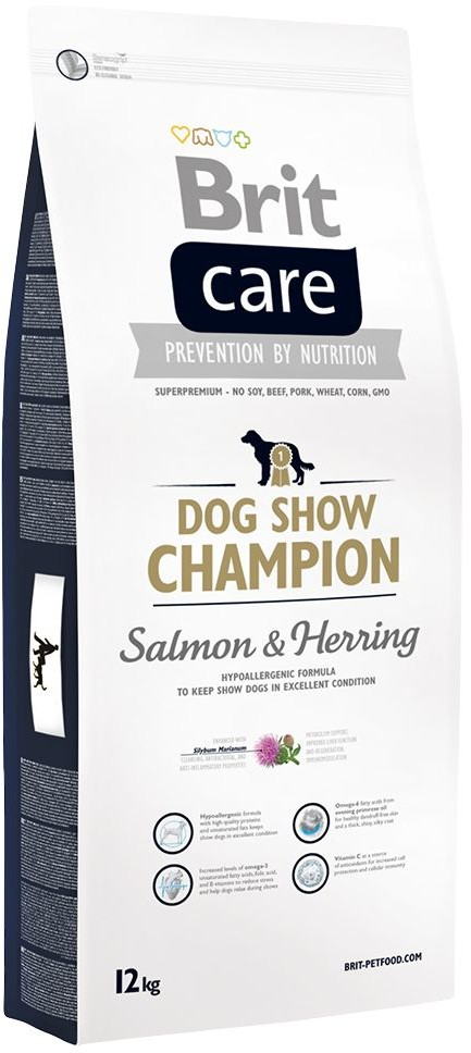 Brit Care Show Champion Salmon&Herring 12 kg