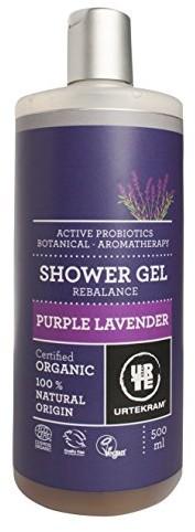 Urtekram urte Kram Purple Lavender żel pod prysznic Bio, Balance, normalny do suchej skóry, 500ML 83629