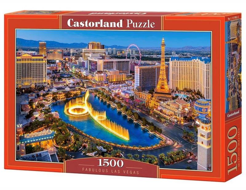 Castorland Puzzle Fabulous Las Vegas 1500