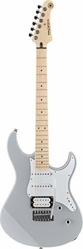 Yamaha Pacifica 112 V gitara elektryczna, szara, wysokiej jakości gitara elektryczna dla początkujących, o eleganckim wzornictwie, wszechstronne brzmienie dzięki przemyślanemu przetwornikowi dźwięku GPA112VMGRRL