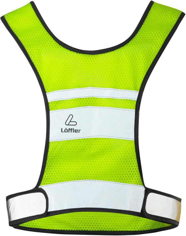 Löffler Kamizelka odblaskowa, neon yellow S 2020 Kamizelki 24457-299-S