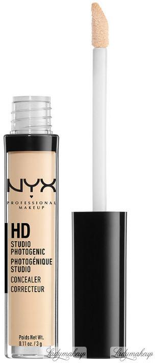 NYX HD Studio Photogenic Concealer - Korektor HD - 00 - ALABASTER NYXSCHD-ORHD