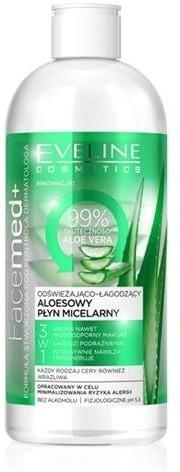 Eveline EVELINE Facemed+ 3w1 płyn micelarny 400ml 53791-uniw