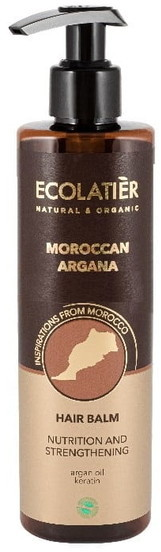 Ecolab Ec Laboratorie Ec Laboratorie MAROKAN ARGANA Odżywczo-wzmacniający Balsam do włosów 250ml