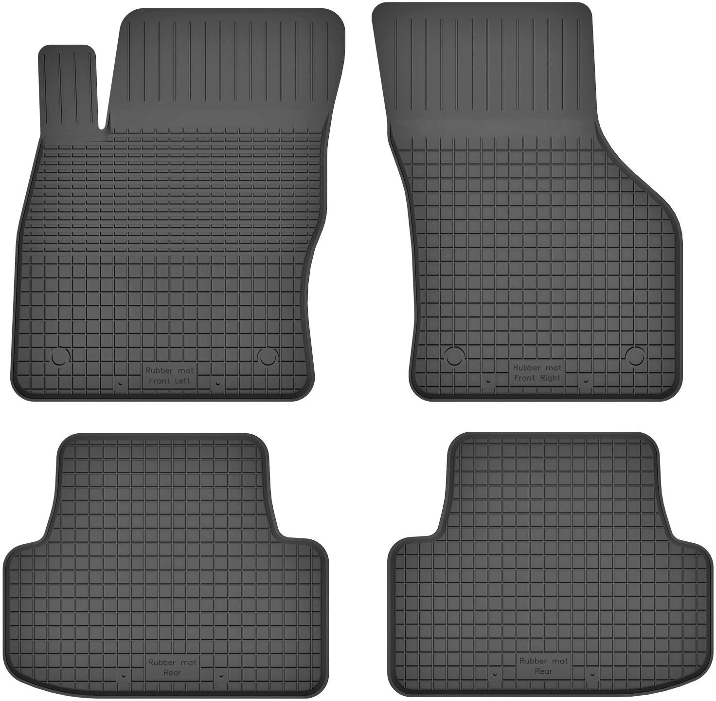 MotoHobby Volkswagen Golf VII (od 2012) - dywaniki gumowe korytkowe