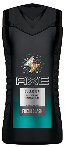 Axe AXE żel pod prysznic Collision Leather & Cookies, 250ML, 6er Pack (6X 250ML) 8710447277775