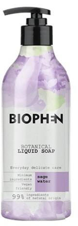 BIOpha Organic Mydło w płynie Biophen Botanical 400 ml Sage Butelka z pompką | DARMOWA DOSTAWA OD 59 zł NN-KBI-I400-002