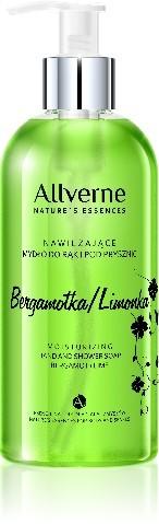 Allverne Natures Essences Mydło do rąk i pod prysznic Bergamotka-Limonka 300ml