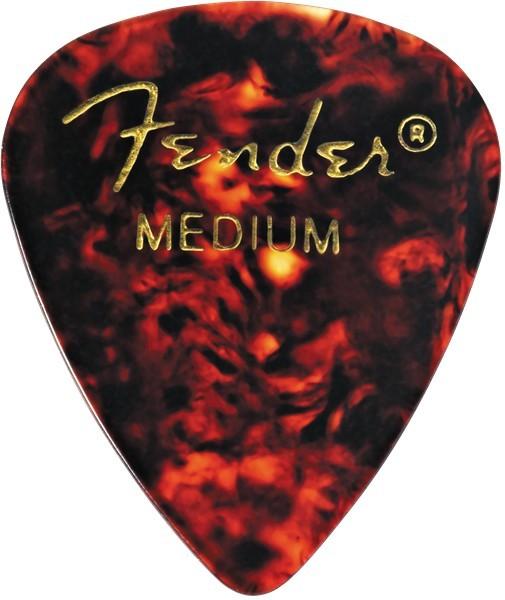 Fender Tortoise Shell 351 Pick Medium kostka git