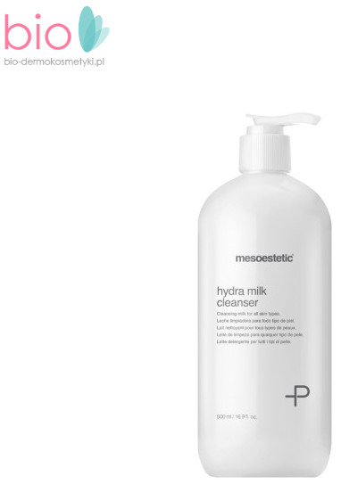 Mesoestetic Oczyszczające mleczko do demakijażu MESOESTETIC HYDRA MILK CLEANSER - 500 ml MLECZKOMESOESTETIC