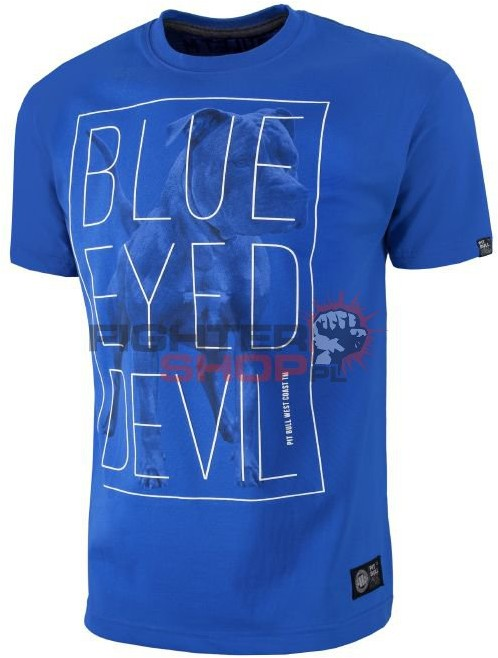 Pit Bull T-shirt Męski BLUE EYED DEVIL '18 Pit Bull