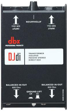 dbx DJDi - 2-kanałowy Di Box pasywny