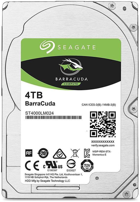 Seagate BarraCuda 4TB ST4000LM024