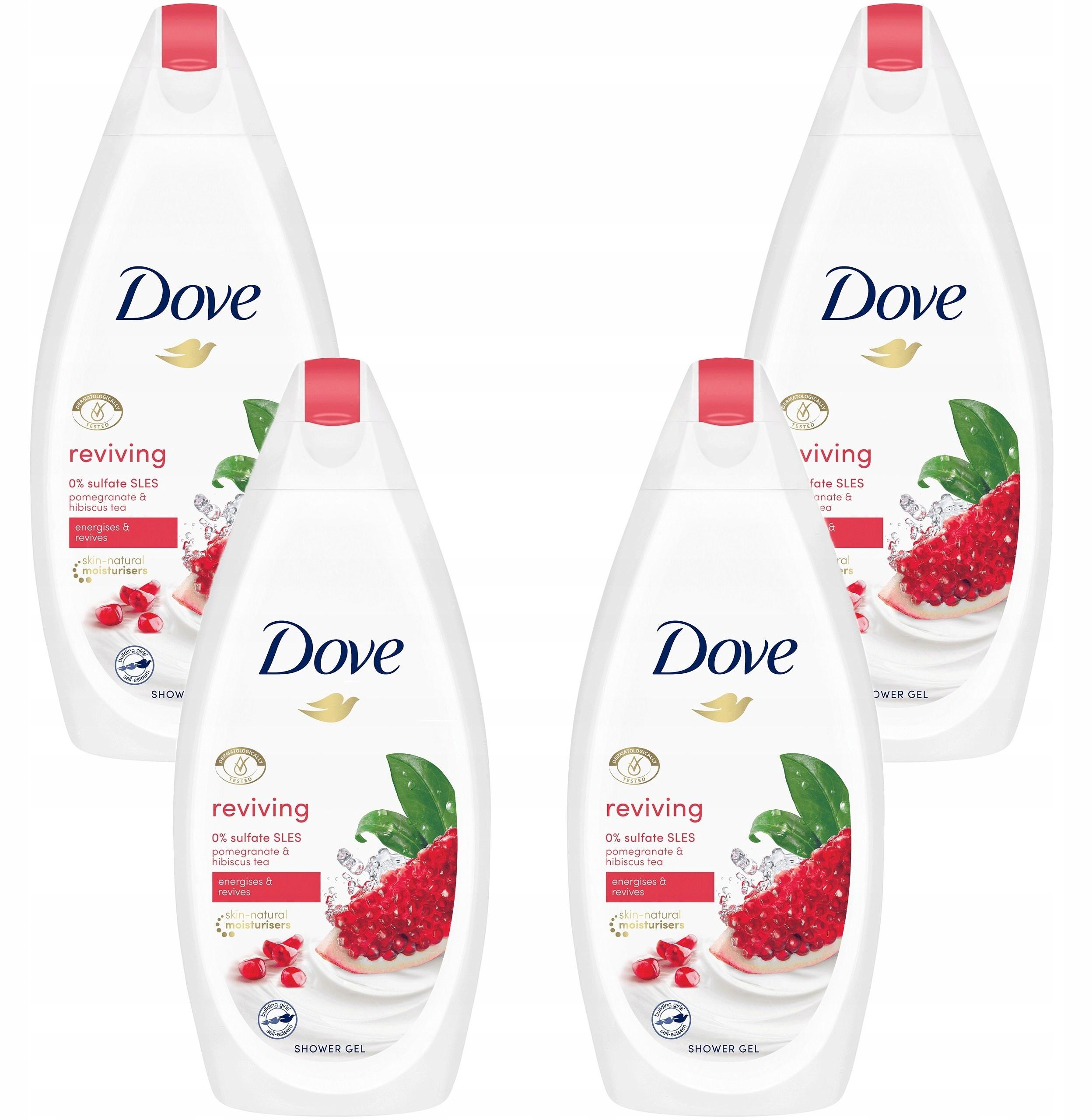 Dove Odżywający Żel Pod Prysznic Granat 2000ml