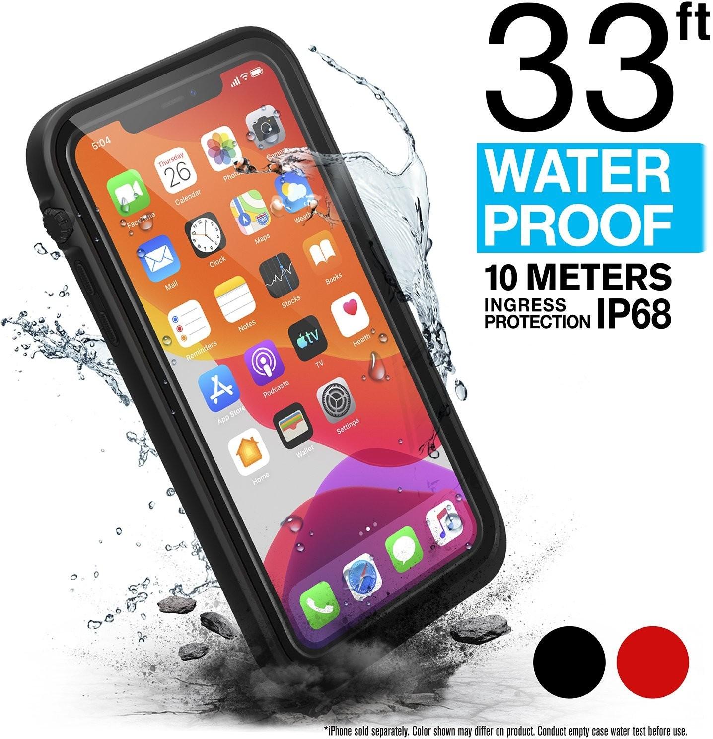 Catalyst Waterproof Case Etui Wodoszczelne (IP-68 do 10 m głębokości) do iPhone 11 (Stealth Black)