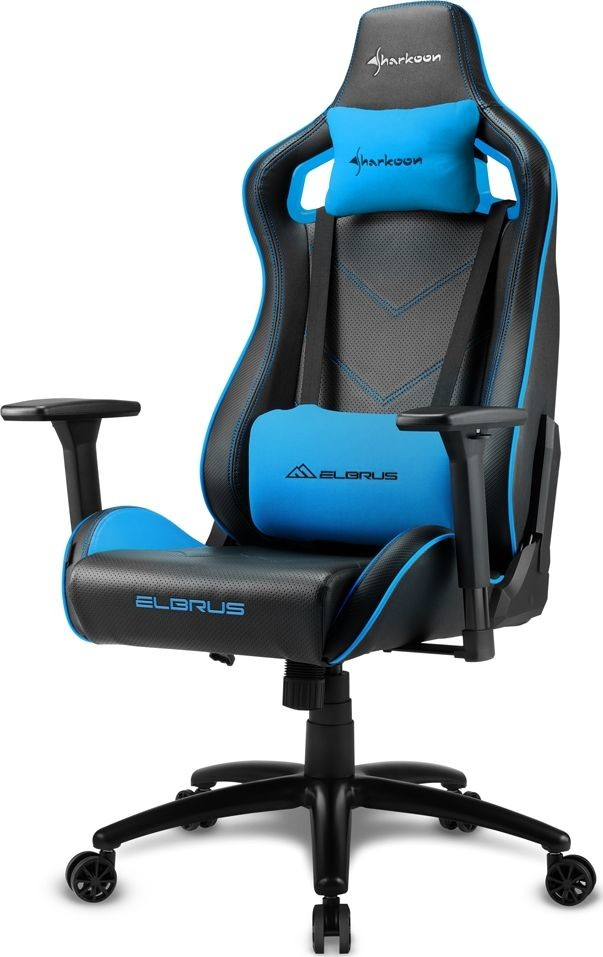 Sharkoon Elbrus 2 Gaming Seat black/blue