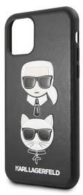 Karl Lagerfeld Obudowa dla telefonów komórkowych Choupette pro Apple iPhone 11 Pro KLHCN58KICKC) Czarny