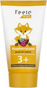 Feelo Feelo Kids RaspberryLand - malinowa pasta do zębów dla dzieci od 3 lat z fluorem 50 ml