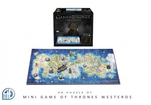 4D Cityscape Puzzle 4D Gra o tron Westeros MINI 4D Cityscape (Game of Thrones) GK3006