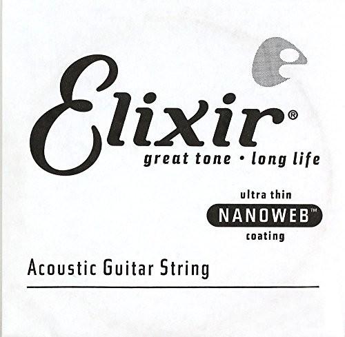 Elixir nanoweb Bronze Wound Single Strings E15153