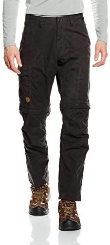 Fjällräven dla mężczyzn Karl Pro Zip-Off Trousers Outdoor Spodnie Spodnie, szary 81463