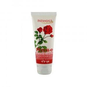 Patanjali Żel do mycia twarzy Różany 60g Patanjali