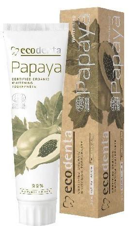 ECODENT ECODENTA Organic Pasta do zębów Papaya wybielająca 100ml ECODENTA Organic Pasta do zębów Papaya wybielająca 100ml