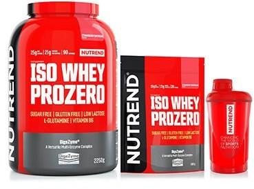 Nutrend Iso Whey Prozero 2250g + 500g + Shaker