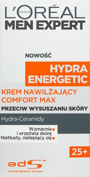 Loreal Paris Paris Men Expert Hydra Energetic 25+ Krem nawilżający Comfort Max 50 ml
