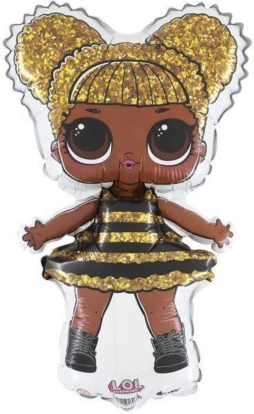 Grabo Balon foliowy LOL Surprise Queen Bee ok. 35 cm 1szt. L682