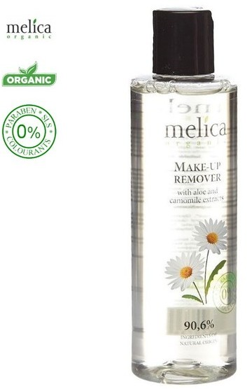 Melica Organic Organic Make UP Remower Płyn do demakijażu z ekstraktem z aloesu i rumianku 200ml