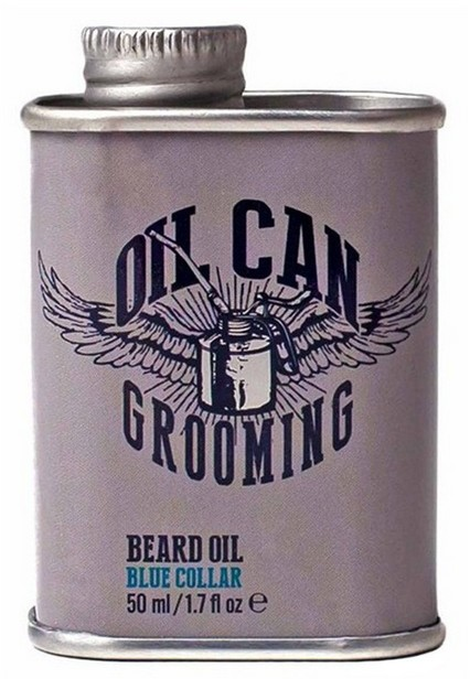 OIL CAN Grooming OIL CAN Grooming Olejek do brody Blue Collar 50ml 731275727490