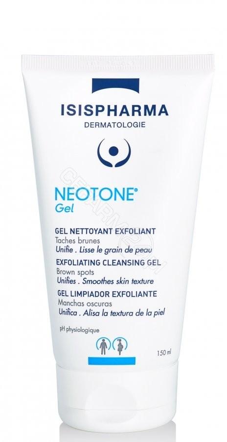 IsisPharma Neotone żel do mycia twarzy złuszczająco-oczyszczający rozjaśniający przebarwienia 150 ml