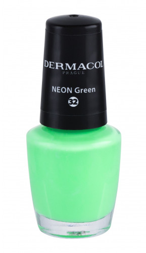 Dermacol Neon lakier do paznokci 5 ml 32 Neon Green