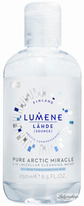Lumene PURE ARCTIC MIRACLE - 3 IN 1 MICELLAT CLEANSING WATER - Płyn micelarny LUMMWMI