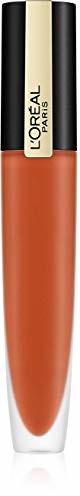PARIS L'Oréal Rouge Signature nr 112 - Achieve, ultralekka i wysoko pigmentowana pomadka do ust, matowe wykończenie o trwałości 24 h, 7 ml