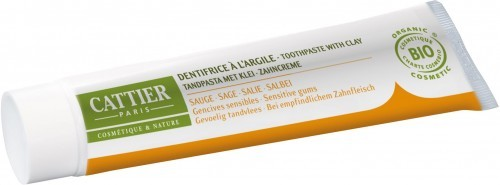 CATTIER (kosmetyki) Pasta do zębów remineralizująca z glinką i szałwią EKO - Cattier - 75ml BP-3283950040044