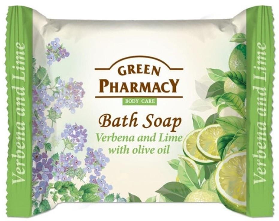 Green Pharmacy Bath Soap mydło w kostce Werbena Limonka i Olejek z Oliwek 100g