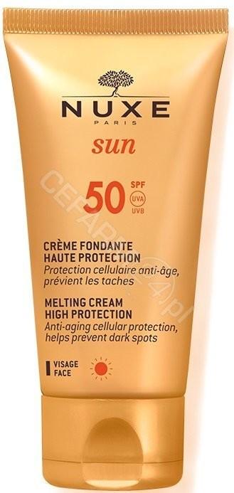 Nuxe Sun krem do opalania twarzy SPF50+ 50ml