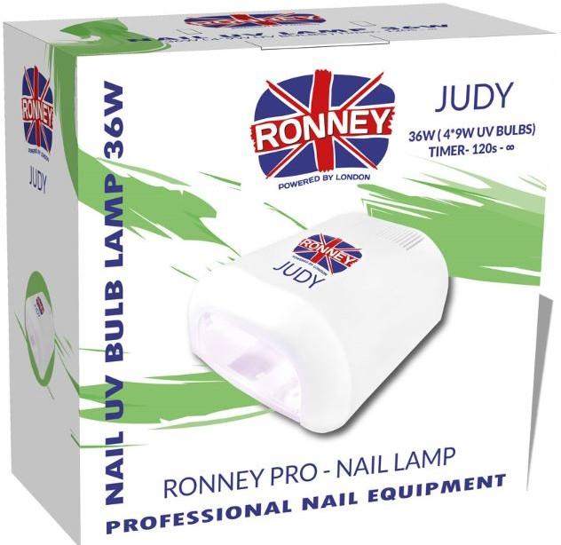 ronney RONNEY JUDY Nail UV Lamp  RED ROSE  Profesjonalna lampa do paznokci UV 36W (GY-UV-230) - CZERWONA RÓŻA