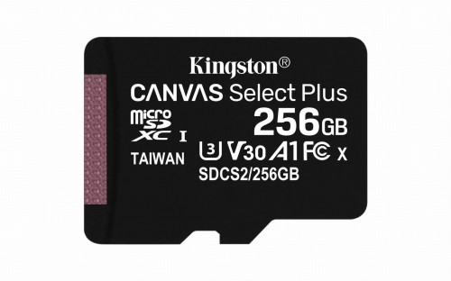Kingston Canvas Select Plus 256GB (SDCS2/256GBSP)
