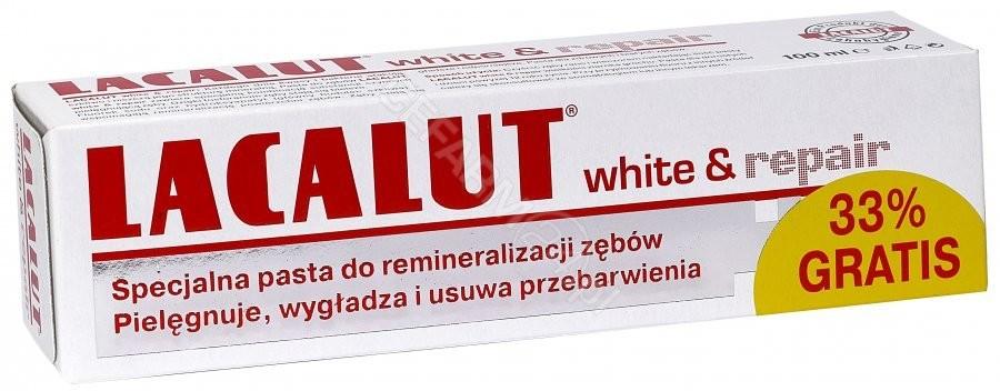 Natur Produkt LABOVITAL pasta 75ml White&Repair+33% gr LABOVITAL
