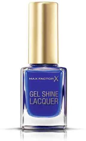 Max Factor Gel Shine Lacquer Lakier do paznokci 40 Glazed Cobalt 11ml